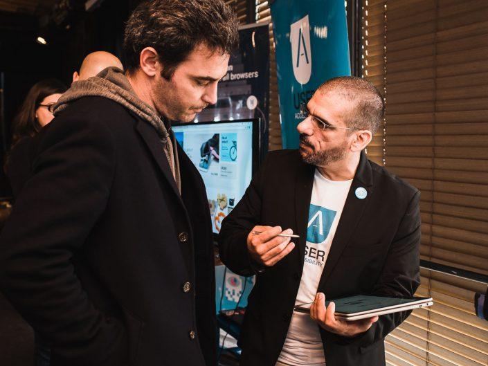 כנס A3I בחסות WIX טוקהאוס תל אביב | צלם אירועים עסקיים כנסים ויחצ אמנון חורש