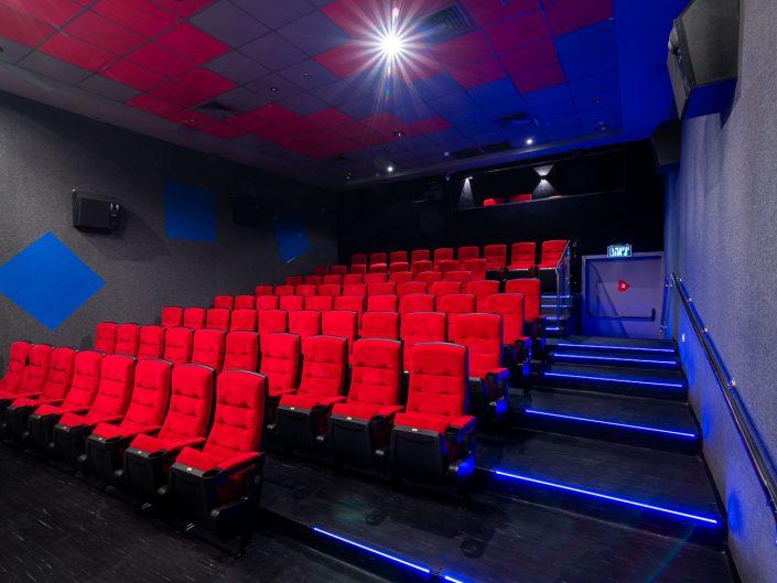 צילום אדריכלות עבור בתי קולנוע לב | צלם אדריכלות אמנון חורש