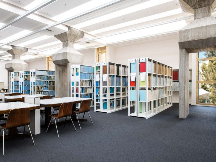 בית אריאלה הספריה העירונית תל אביב יפו | צילום אדריכלי אמנון חורש