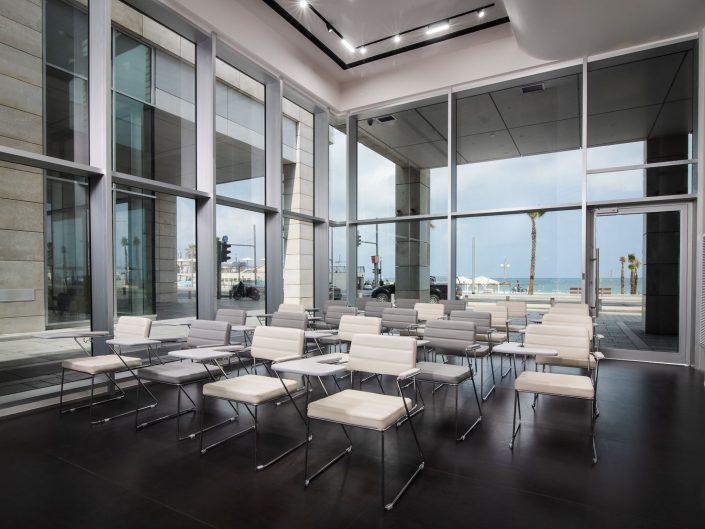 הרברט סמואל סנטר תל אביב | צילום אדריכלי אמנון חורש