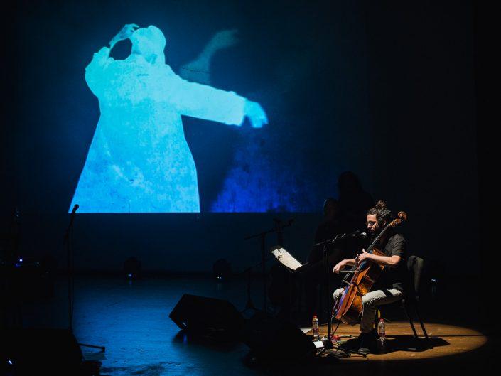 תפילה שבורה מחווה ללאונרד כהן מוזיאון תל אביב | צילום הופעה אמנון חורש