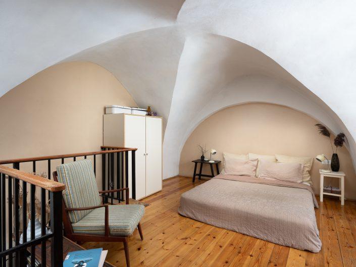 סדנה לשעבר ביפו שהומרה לדירה קטנה | צילום אדריכלות ועיצוב פנים אמנון חורש