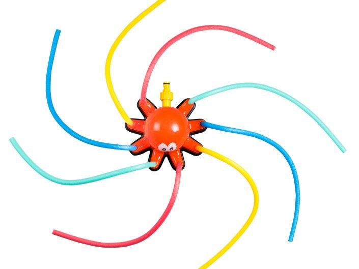 צילום צעצוע תמנון משפריץ מים 2
